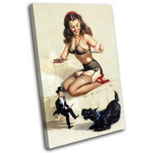 Vintage Girl Retro Pin-ups - 13-2073(00B)-SG32-PO